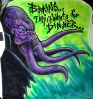 Mindflayer by spidersnyd