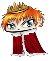 AC: The human King Chibi by Tiny-Midget