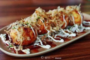 Cream Cheese Takoyaki by viennidemizerable