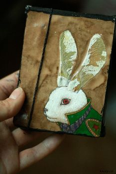 notepad - Rabbit by t-a-t-k-a