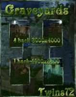 Graveyards by Twins72-Stocks