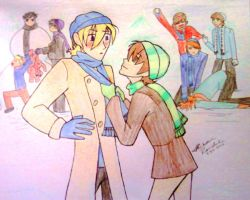 Ouran Winter by MrsMcGinty