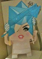 Lady GaGa Telephone Papercraft by volleyballplayer13