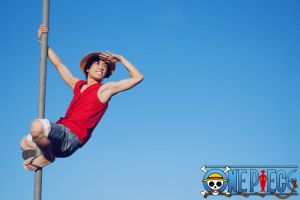 ONE PIECE - Monkey. D. Luffy by AmenoKitarou