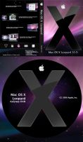Mac OS X Leopard DVD Cover US by EntouchGraphics
