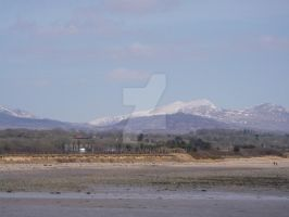 SNOWDON FROM AFAR by happyjob