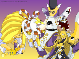 2005 Digimon: Renamon evo by EmeraldSora