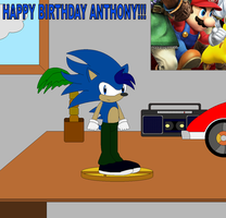 Anthony's Birthday Present by LGee14