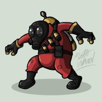 Day 9: Pyro by wibblethefish