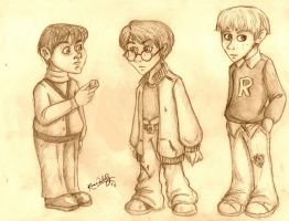 HP Boys by TottieWoodstock