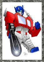 GerHankey's Optimus Pinup by OracleX7