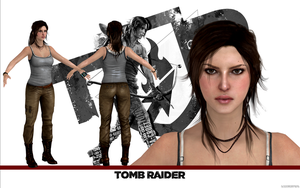 Tomb Raider Lara Croft model release by konradM96