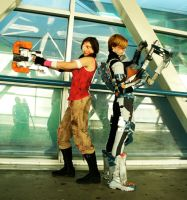Dead Space 2 Cosplay - Isaac and Ellie by Galactic-Reptile