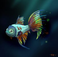 Mechanical fish by ginkoflowers
