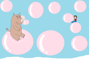 on the Bubbles with Ramper by SuperdragonFeuragon