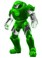 Green Lantern Iron Man Hulk basher suit by KalEl7