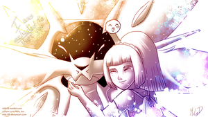 I was enchanted to meet you (Solgaleo + Lillie) by MiLe-08