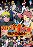 Naruto Shippuden X Fairy Tail : Ninjas VS. Wizards by DlynK
