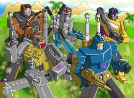 Transformers - Combaticons by JP-V