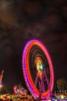 Ferris Wheel HDR by Creative--Dragon