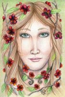 Apple Blossom Woman by delightedmuse