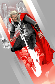 God of Thunder by Aseo