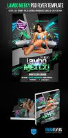 Lambo Mercy Party Flyer Template by ImperialFlyers