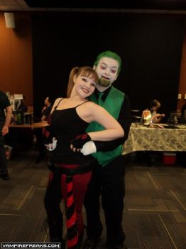 NerdCon 2015 Arent we a lovely creepy couple by Kotoko87