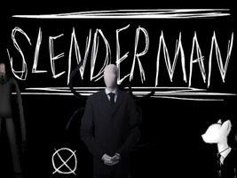 Slender Man Wallpaper by MyLittleRoseluck