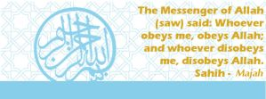 Islamic Facebook Cover Photo Obedience by topmuslim
