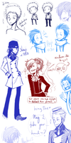 Persona Doodles I by Kame-o