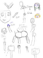 Le_Sketchdump by MyVisionIsDying