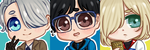 [FREE TO USE] Yuri on Ice Icons by Tsaric