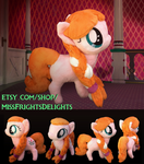 Pony Plush: Anna - FOR SALE- by SnowFright