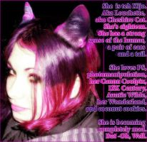 There was a Cheshire Cat by Louchette