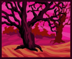 red.trees by coolingj7j77
