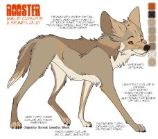 Rooster Ref Sheet by Huntress614