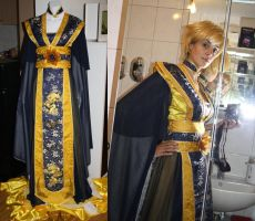 WIP - Sailor Uranus Hanfu Original Design by Nikoschka