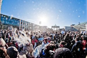 Berlin pillow fight 2011 - 2 by Egg-Salad