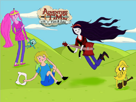 Adventure Time by hermionexronforever