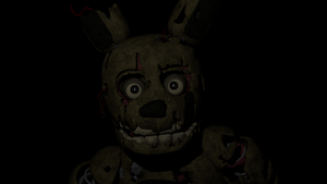 Springtrap In The Office by Mistberg