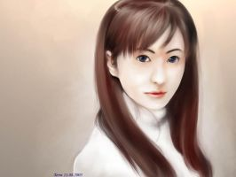 Jang Nara by coffingirl