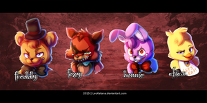 =FNAF= Five Nights At Freddy's by LeoKatana