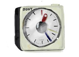 1980s Clock by CommanderEVE