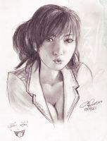 Pencil: Yumi by zamboze