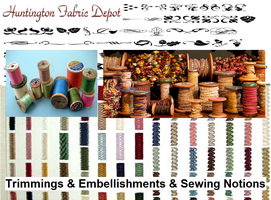 Embellishments and Sewing Notions by Fabric-Depot