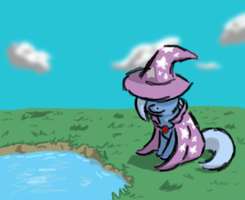 The great and lonely Trixie :doodle: by Neyonic
