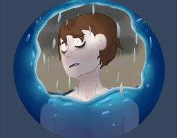Drowning in a Wave of Sadness by ShadaIsHungry