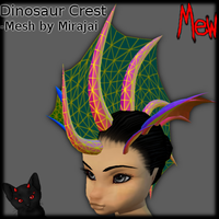 Derivable Dino Crest by lonelycard
