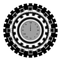 Gear and Clock by renixis00